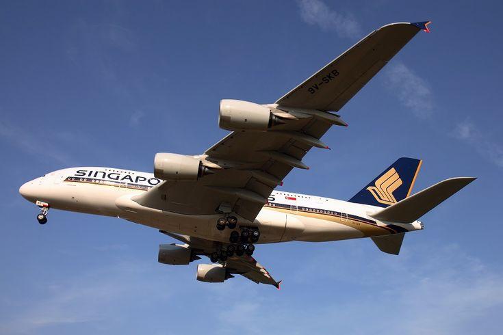 Singapore Airlines Operasikan A380 ke Beijing.
