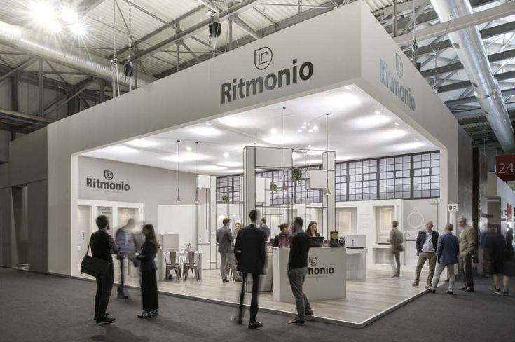 ritmonio stand @ Milan Salone del Mobile 2016, design Lana+Savettiere architetti