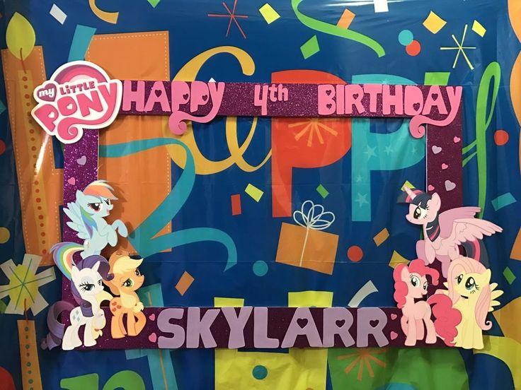 Rainbow Dash My Little Pony Marco de cabina de fotos para tomar fotos Cumpleaños | Hogar y jardín, Tarjetas y suministros para fiestas, Suministros para fiestas | eBay!