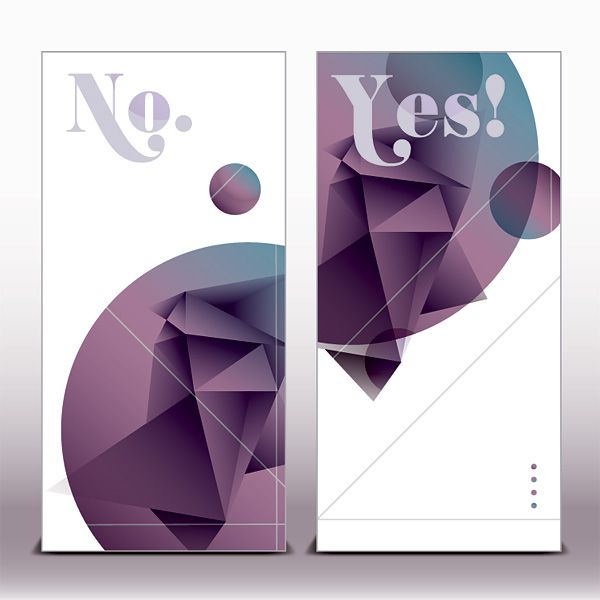 Prism Banners Vector Graphic — contemporary, futuristic, geometric, triangle, abstract, modern, shapes, light, angle