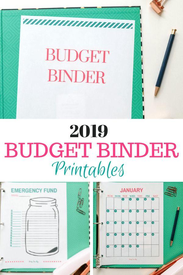 2019 Printable Budget Binder