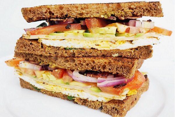 club sandwich recept