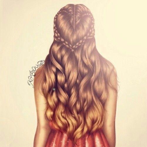 Me lembra minha amiga, esse penteado define uma pessoa doce, é ela.