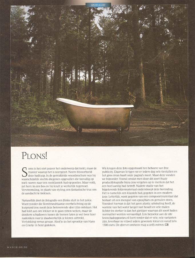 Albion Bath Company in the Press