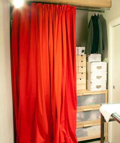 Oltre 25 fantastiche idee su armadio tenda su pinterest for Cabina armadio low cost