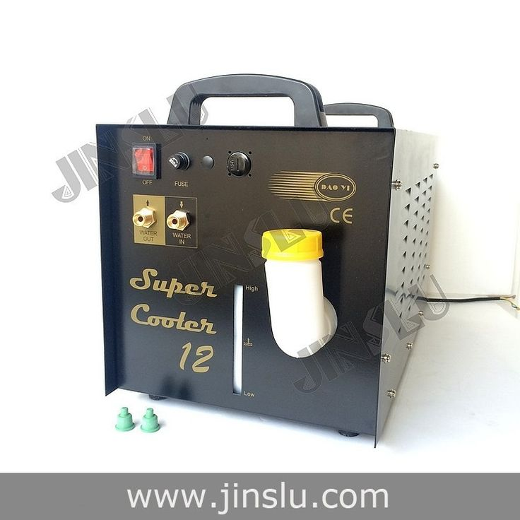 304.90$  Watch now - http://alilev.worldwells.pw/go.php?t=32453196444 - Welding Torch Plasma Water Cooling Tank Recirculator Chiller 15L for Welder Cutter