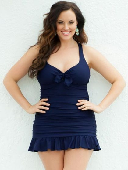 Plus Size Lingerie | Plus Size Swimwear | Kelly Swimsuit | Hips & Curves