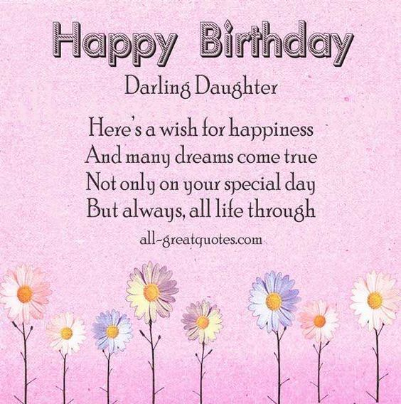 14 best daughter images – Daughter Birthday Cards