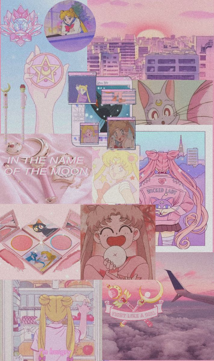 Sailor Moon Aesthetic Wallpaper In 2021 Sailor Moon Wallpaper Anime Wallpaper Cute Cartoon Wallpapers