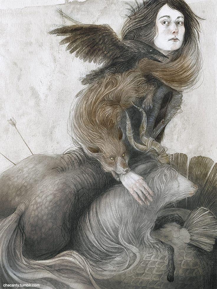 The Art Of Animation, Jana Heidersdorf - https://society6.com/checanty...