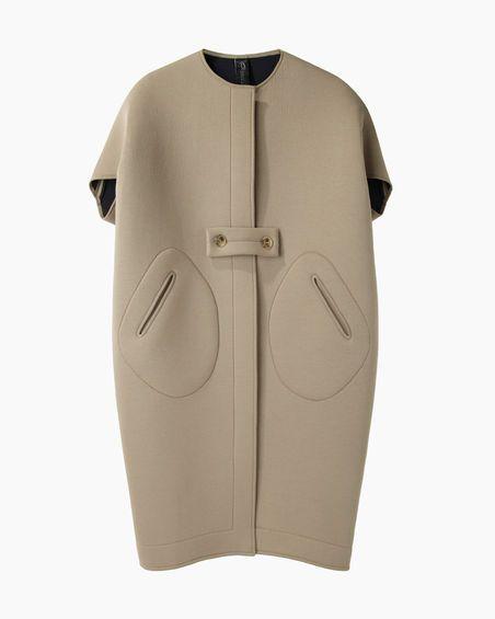 Zero + Maria Cornejo Ayah Cocoon Coat