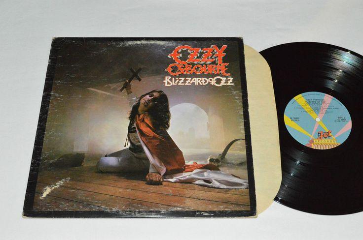 OZZY OSBOURNE Blizzard of Ozz LP 1981 Jet Records Canada Vinyl JZ-36812 VG/VG