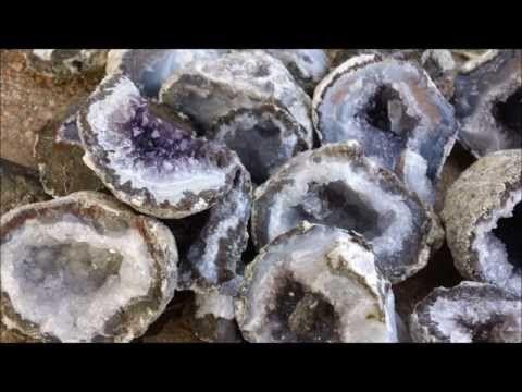 Rock Candy Edible Geode HOW TO cook that Rock Candy Recipe Ann Reardon - YouTube
