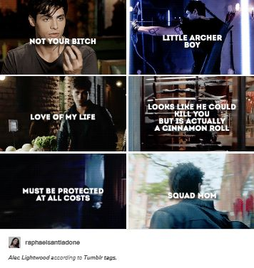 Alec Lightwood, love the first one from COHF