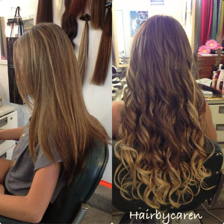 Hair Extensions Before And After Stuff To Try Pinterest Hair