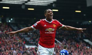 Anthony Martials winner against Everton sends Manchester United fifth