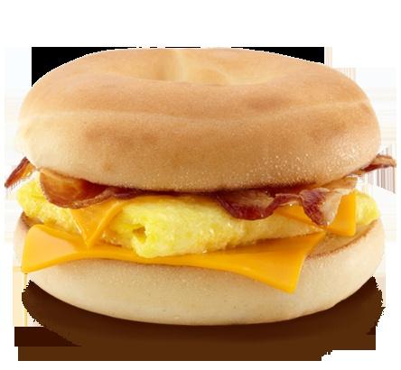 McDonalds Bacon, Egg & Cheese Bagel Sauce... 2 tablespoons mayonnaise and 1 teaspoon creamy dill mustard.