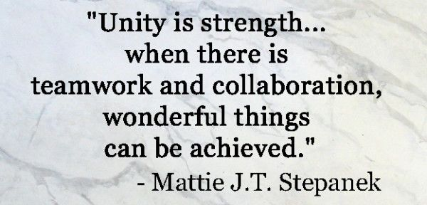 Father And Son Working Together Quotes: 17 Best Unity Quotes On Pinterest