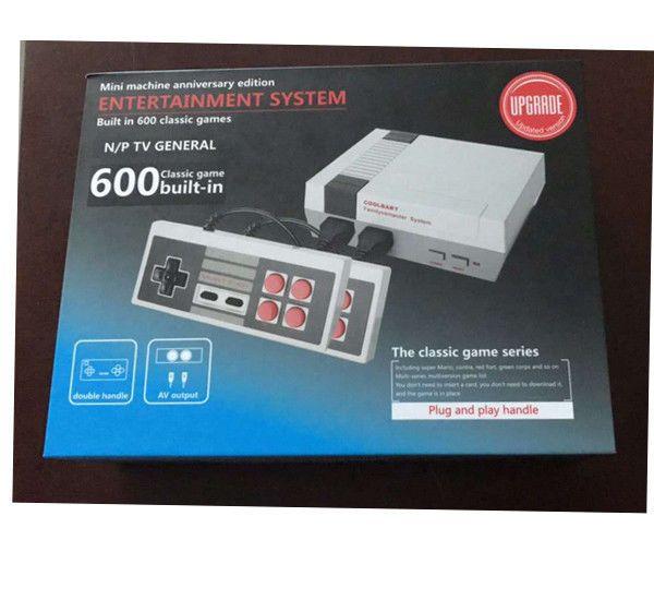 Mini Vintage Retro TV Game Console Classic 600 Built-in Games With 2 Controller #UnbrandedGeneric