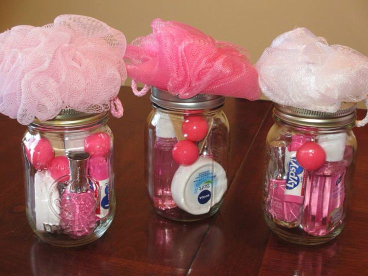 Game prizes for baby shower