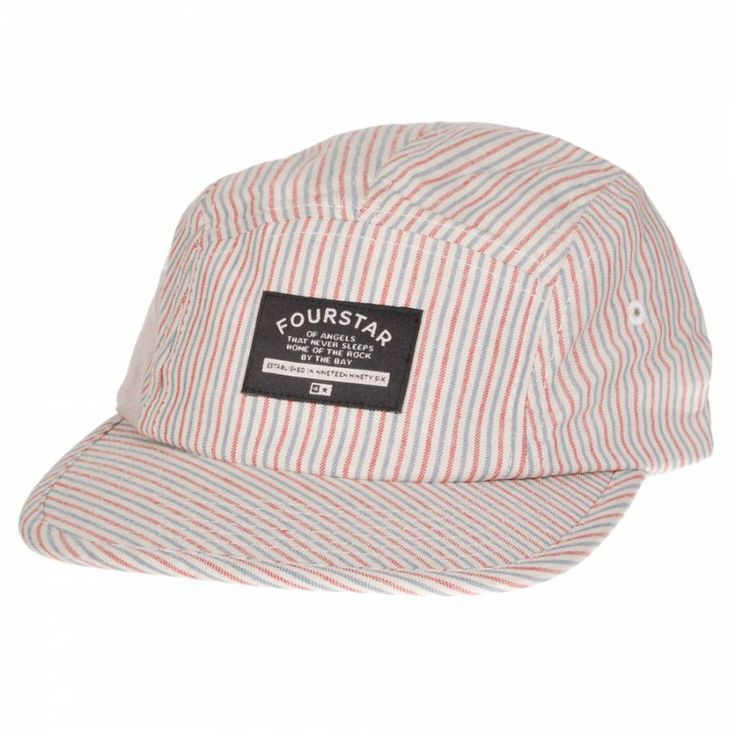 Fourstar Clothing Fourstar X Cliche Brophy 5 Panel Cap - Hickory