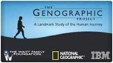 The Genographic Project| National Geographic launched their Genographic Project in 2005. It is a research project from the National Geographic Society which encompass work carried out by their scientific team. The public is encouraged to join. The Genographic project focuses on deep ancestry from an anthropological perspective. #NationalGeographic #GenographicProject #DNA #genealogy #familytree