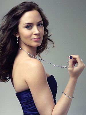 emily blunt - Love this girl...Fashion, Class, Blue Eyes and a Brunette...gorgeous and rounded!
