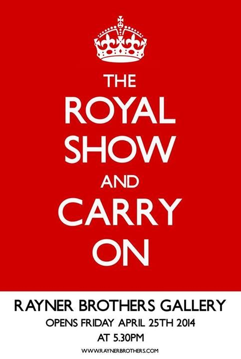 """Rayner Brothers Gallery """"Royal Show""""  Date: 25th of April Time: 5:30pm Location: Rayner Brother Gallery @ 52 Guyton Street, Whanganui.  Rayner Brothers Gallery have an exhibition tonight showcasing the """"Royal Show"""" which includes many Royal pieces of artistry works."""
