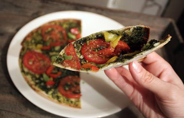 Oppskrift Rask Tortilla Lefse Pizza Lompepizza Lefsepizza