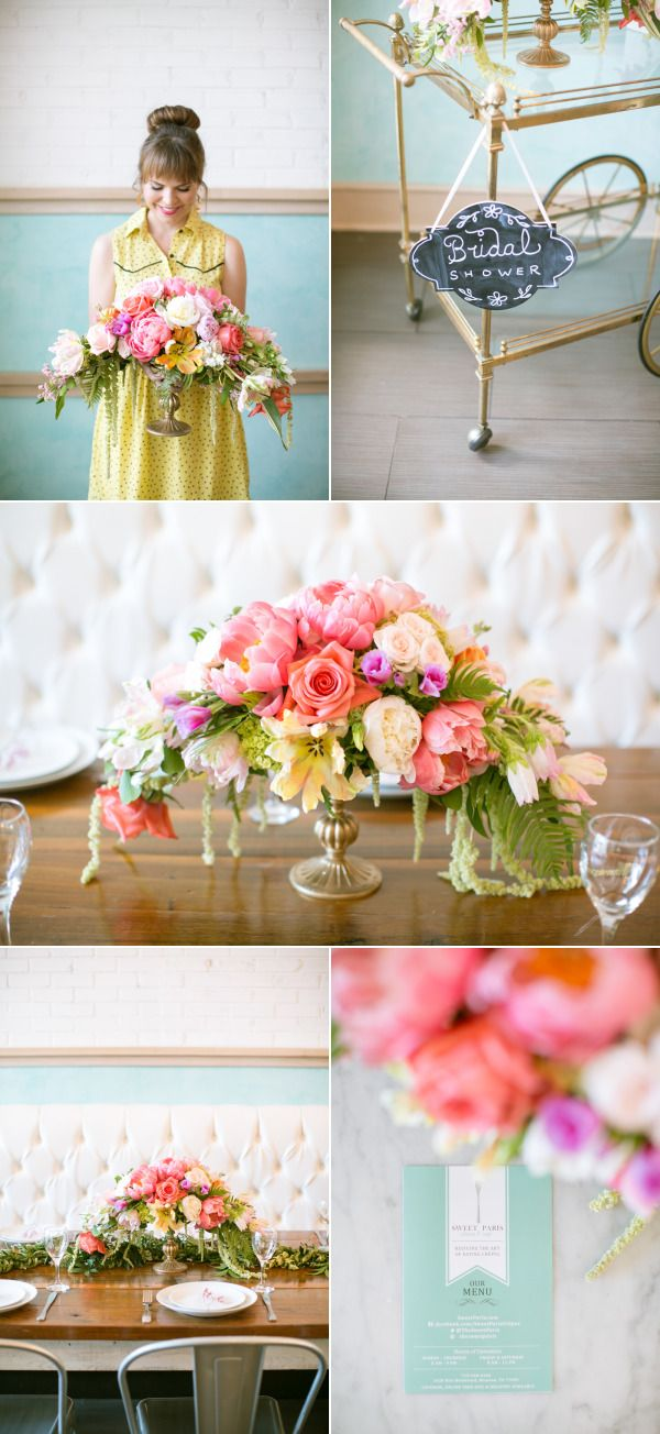 French Brunch Inspired Bridal Shower – Style Me Pretty