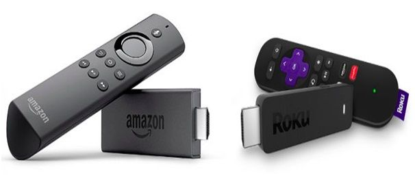 Here is the differences and similarities between Roku streaming stick and Amazon fire stick. Roku Offers more streaming options than the Amazon Fire TV Stick. For example the Roku includes HBO Go. The Fire TV Stick doesn't. Roku also offers Vudu, Starz, Rdio, Rhapsody, Google Play video, or Google Music while Fire TV doesn't.  If you have any queries regarding Roku products and Roku stick or Roku com link activation, Call our toll-free number +1-855-729-8080.