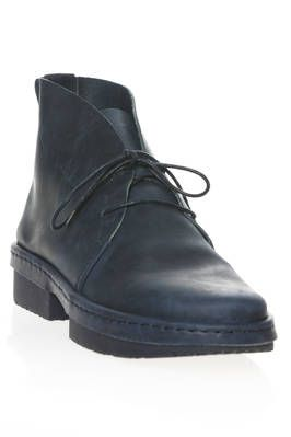 SLOW ankle boot in smooth matt cowhide leather - TRIPPEN