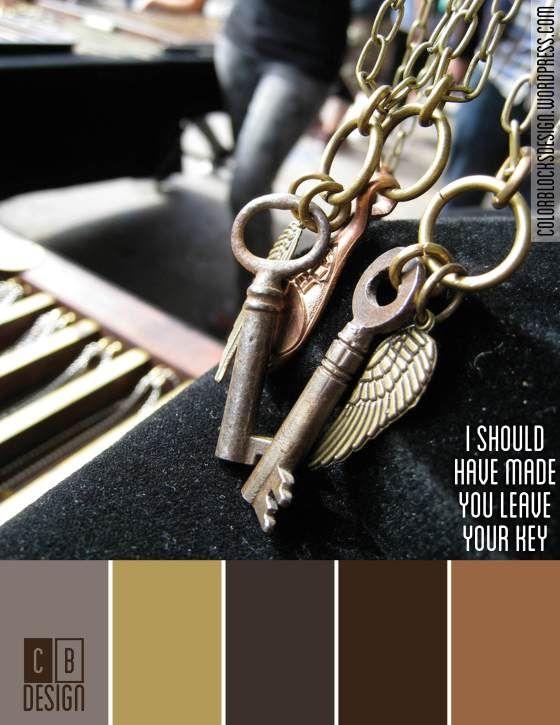 I Should Have Made You Leave Your Key | Color Blocks Design 10.5.12