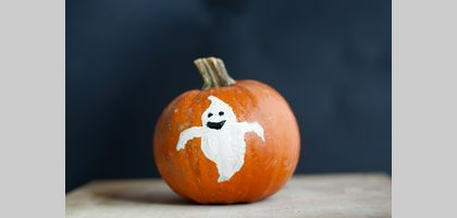 Faces to Paint on Pumpkins for Kids | eHow