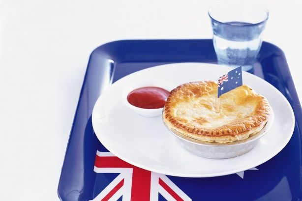 Homemade Meat Pies Recipe - Taste.com.au Made with good Aussie beef mince! And enjoyed with rosella tomato sauce, yum!