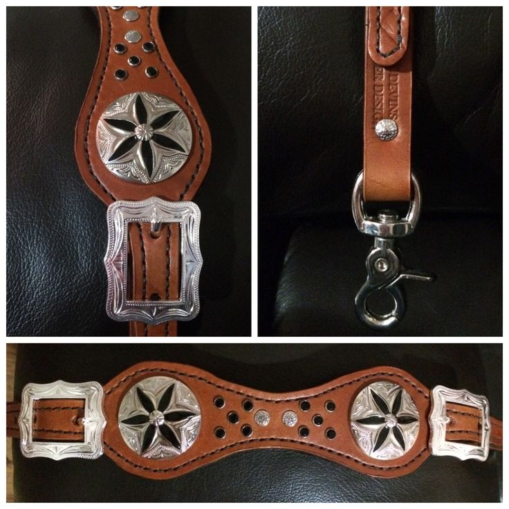 Kelly's Leather Design: Twelve Days of Christmas   On the third day of Christmas Kelly's Leather Design offers you: ❅ $5.00 off the Wither Strap with Black & Silver Decoration