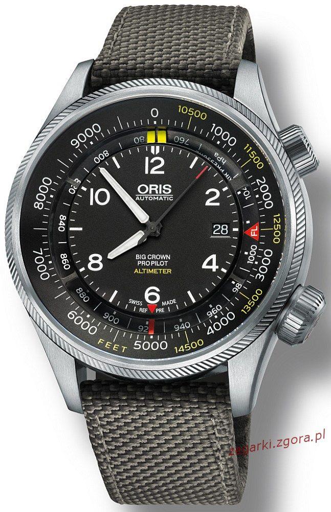 Zdjęcie 1 Oris Big Crown Pro Pilot Altimeter 733 7705 4134 TS