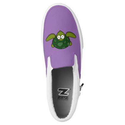 #Turtle 🐢 slip-on shoes for sale ! - #womens #shoes #womensshoes #custom #cool
