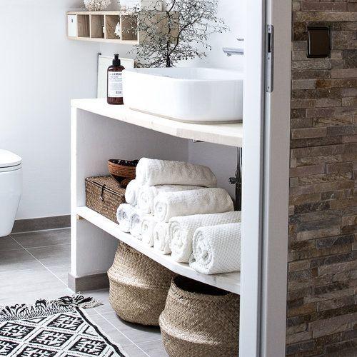 Badezimmer Deko Korbe Mit Bildern Aufbewahrung Ideen Schone