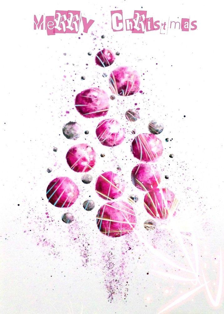 Merry Purple Christmas by AdrianaMijaiche