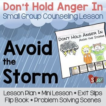 This is a small group counseling lesson for anger management for first through third grade. Everyone gets angry and that is okay. How we handle our anger is the difference. This lesson helps students increase emotional awareness, focused on the impact of holding anger