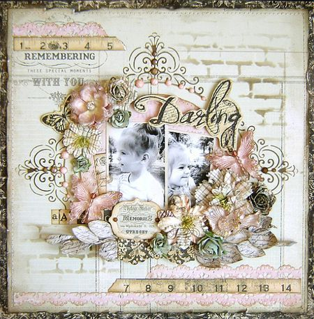 Prima Layout by Karola witczak using Almanac