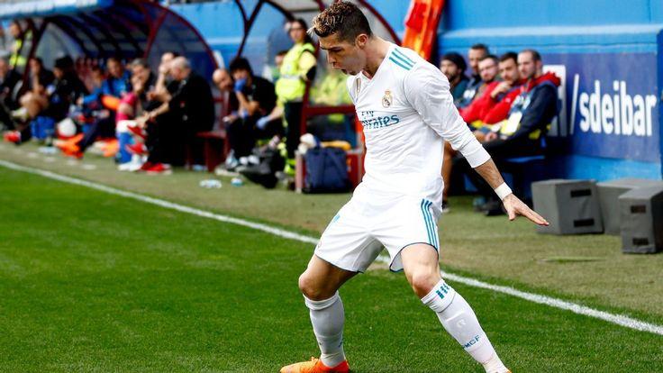 Ronaldo rescues Real Madrid in Eibar win. #realmadrid