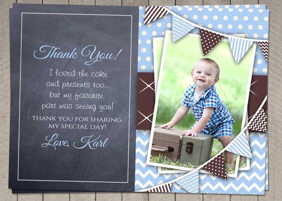 Printable Birthday Invitations For Boy ~ Best birthday thank you card images birthday