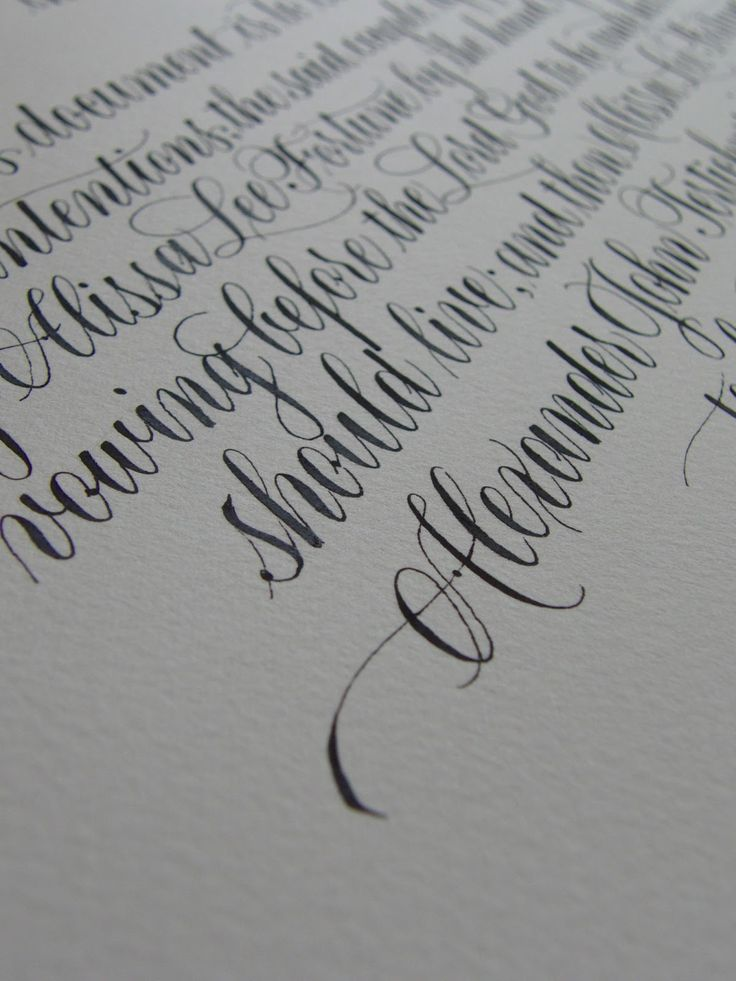 25 unique cursive letters ideas on pinterest Where to learn calligraphy