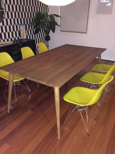Solid Teak Timber Twist Dining Table