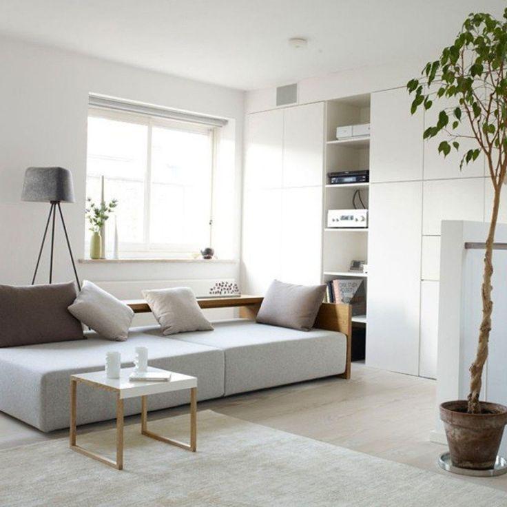 comme le salon est la carte de visite de nos maisons on lui prte une - Model Ede Salon Moderne Blanc