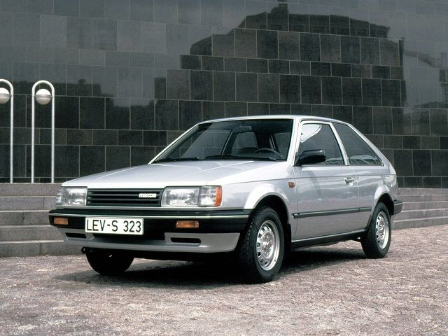 Mazda 323 3-door (1985 – 1989). Wish I could find one in this condition.