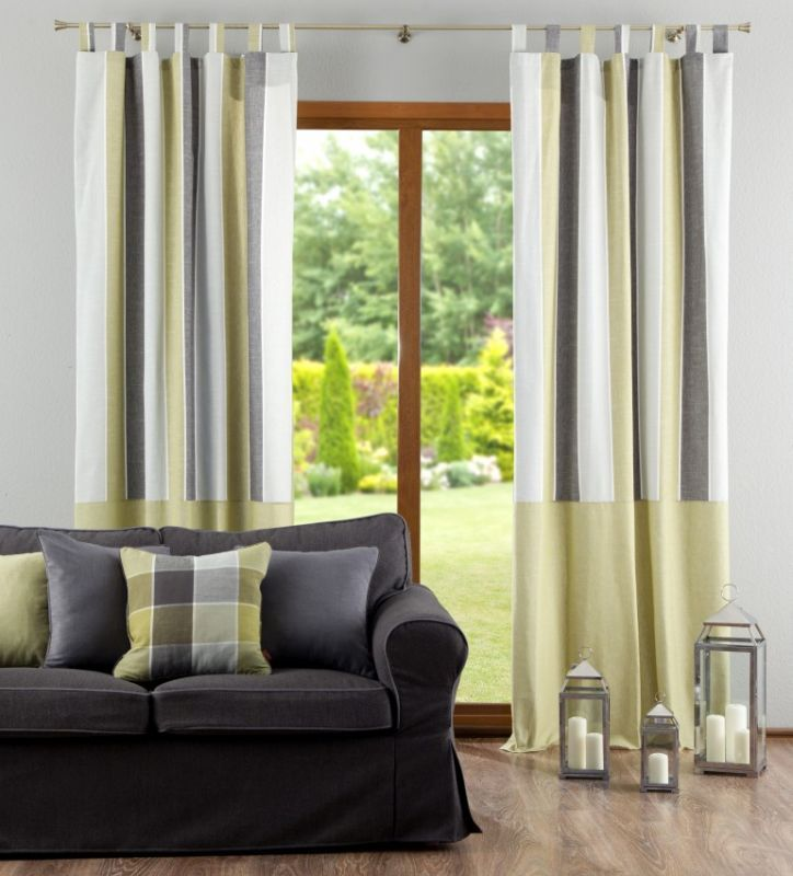 Using wrinkle band tapes is one of the best options for holding up curtains.