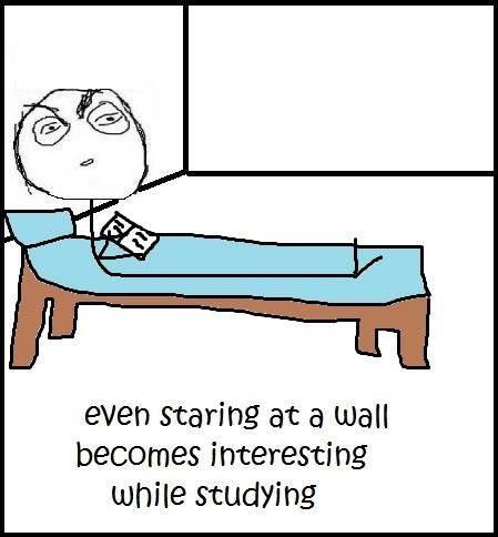 ...ashamed to say that I have caught myself doing this while studying many times :D